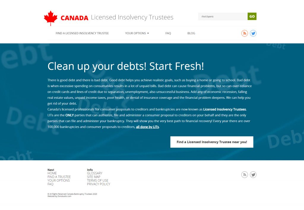 Canada Bankruptcy Trustees