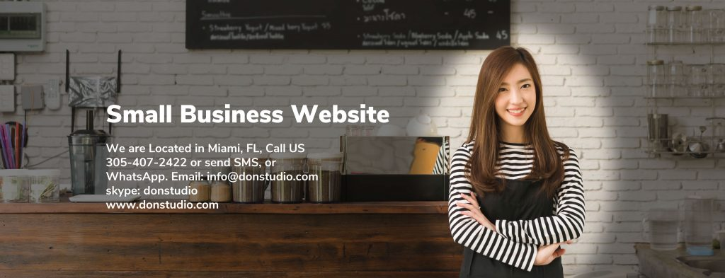 small business website donstudio